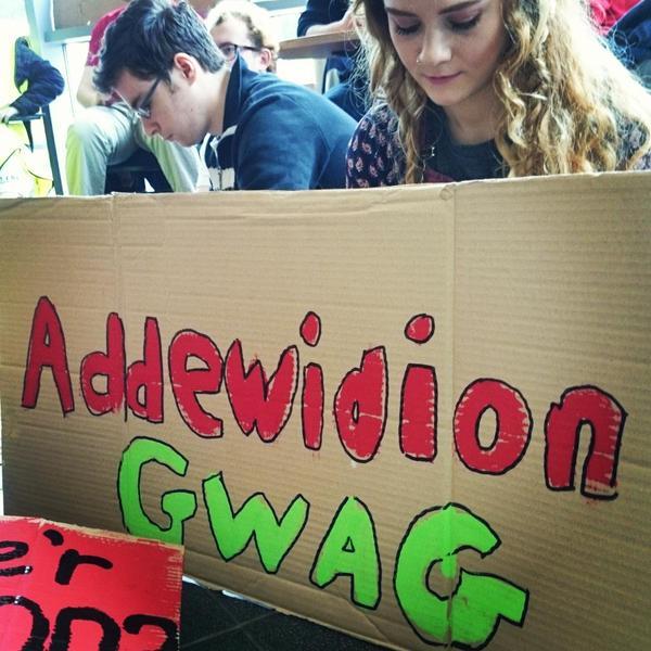 Addewidion Gwag 2015 - llun gan Erin Angharad Owen